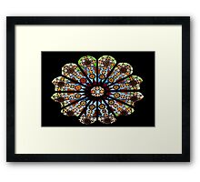 Stained glass - Rome Framed Print