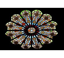 Stained glass - Rome Photographic Print