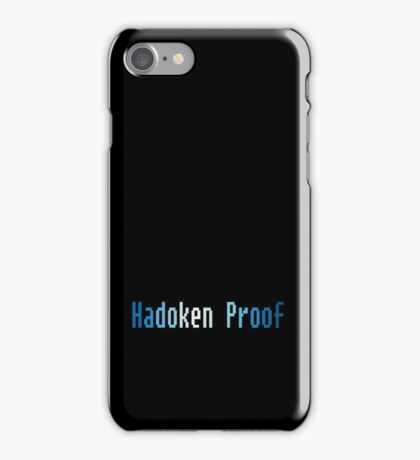 Hadoken Proof iPhone Case/Skin