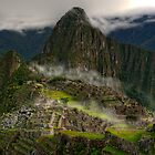 Unveiling of Machu Picchu, Peru by Clint Burkinshaw
