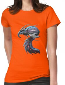 Underwater creature_second version Womens Fitted T-Shirt