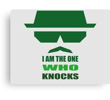 Walter White - Knocks Canvas Print