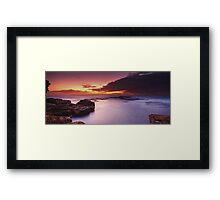 Thank you - No Fisherman Framed Print