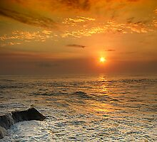 Sunset @ Bali by Charuhas  Images