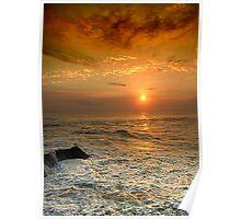 Sunset @ Bali Poster