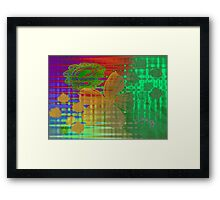 COLOURS. Framed Print