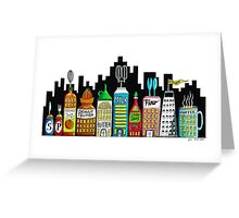 Kitchen City Greeting Card