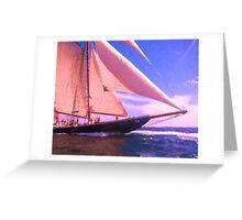 Under Sail Greeting Card