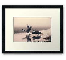 Run for life Framed Print