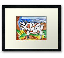 """Holy Cow""! Framed Print"