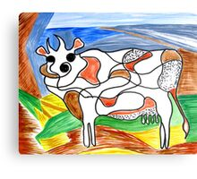 """""""Holy Cow""""! Canvas Print"""