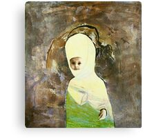 the little flower Canvas Print