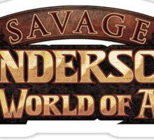 Savage Thunderscape Logo Sticker
