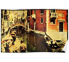 Venice Canal 2 - 1968 Poster