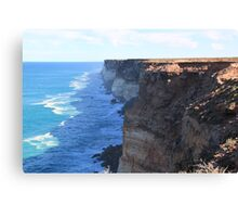The Great Australian Bight Canvas Print