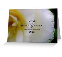 Eve's Garden Greeting Card