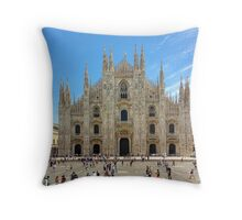 Milan Cathedral, ITALY Throw Pillow