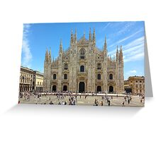 Milan Cathedral, ITALY Greeting Card