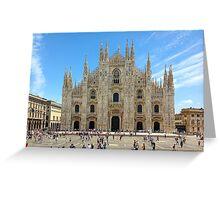 Milan Cathedral, ITALY Greeting Card