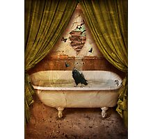 """Quote The Raven """"Never More"""" Photographic Print"""
