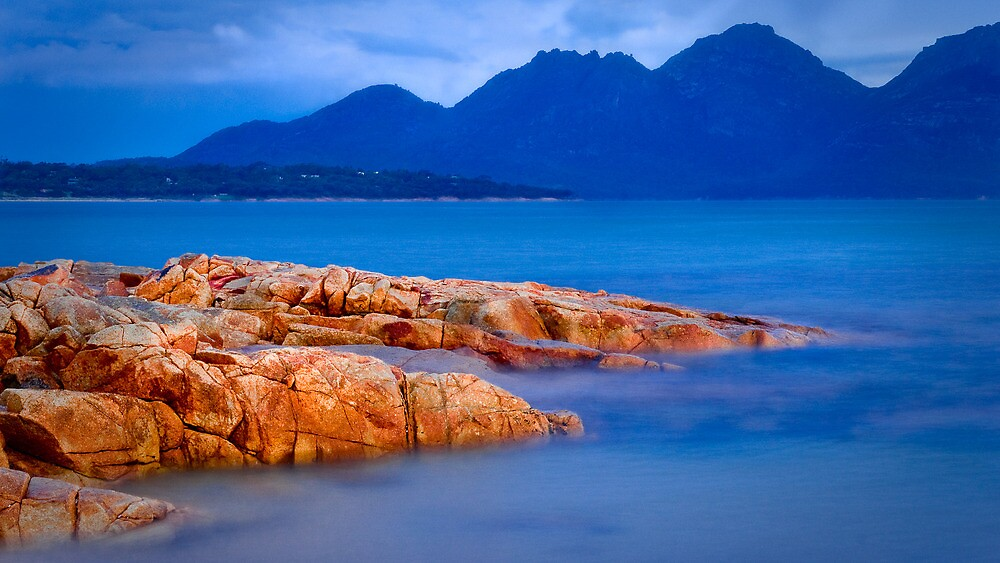 The Hazards from Coles Bay by Robert Dettman
