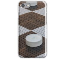 chess outdoors iPhone Case/Skin