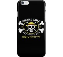 Grand Line University iPhone Case/Skin