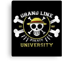 Grand Line University Canvas Print