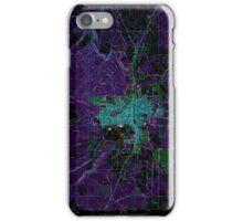 USGS Topo Map Oregon Bend 279000 1962 24000 Inverted iPhone Case/Skin