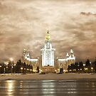 Moscow university  by Gouzelka