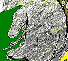 hand -(030411)- mouse drawn/ms paint by paulramnora