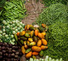 vegetables by Sajeev Chandrasekhara Pillai