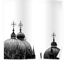 Rooftops of Venice Poster