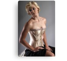 Corsetry I Canvas Print