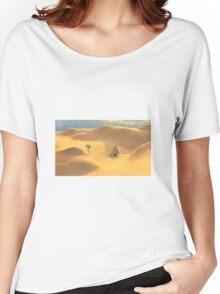 Desert hut Women's Relaxed Fit T-Shirt