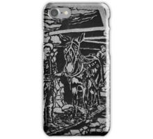 Butte Montana - Working In Butte's Undergound Mines iPhone Case/Skin