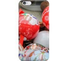 decorations for Christmas iPhone Case/Skin