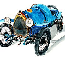 Bugatti by Ob-Art