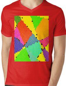 Colour Anyone? Mens V-Neck T-Shirt