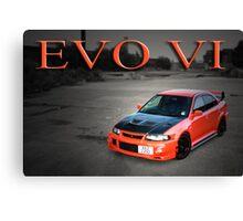 EVO VI Canvas Print