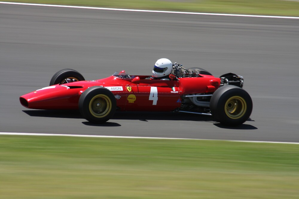 Dino Ferrari Race Car by SkyPhotos