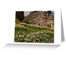 Spring at Cotehele Greeting Card