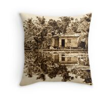 In the Backwaters Throw Pillow