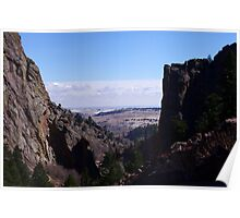 Fowler Trail view of the plains Poster