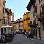 Verona alleyway by Elena Skvortsova