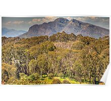 Mountain High - Mount Sterling , Victorian Alps - The HDR Experience Poster
