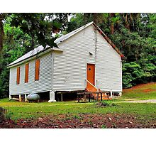 Old Country Church Photographic Print