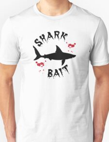 Shark Bait Great White Shark Attack Blood Splats T-Shirt