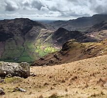 Side Pike From Stickle Tarn by SteveMG