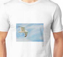 Seagull flying Unisex T-Shirt